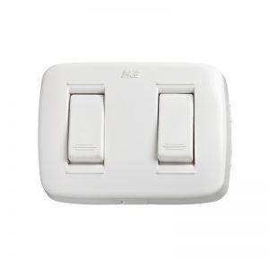 Interruptor Sencillo + Interruptor Conmutable
