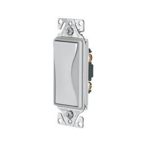 Interruptor Sencillo con Luz Piloto Conmutable 3 Vías