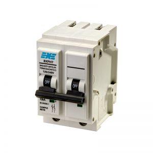 Breaker EXE Plug 2P 15A